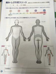 小林麻央 痛みのシートはエーザイの「痛み・しびれ記入シート」だと思う!麗禾ちゃんの優しさに応えて元気になってほしい!